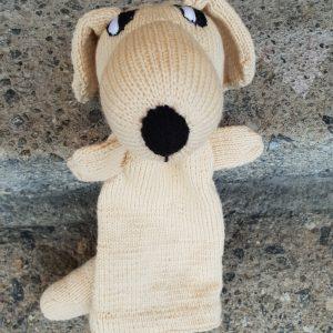 Handpuppe Hund Labrador Spielzeug