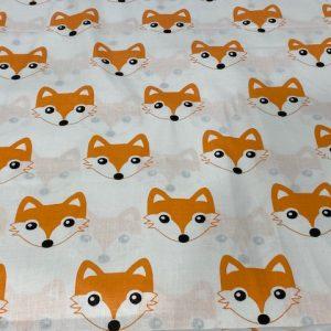 Baumwolle Webware Fuchs