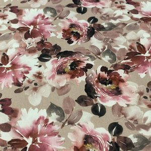 Sommersweat floral rot