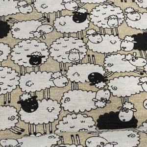 Dekostoff Schafe
