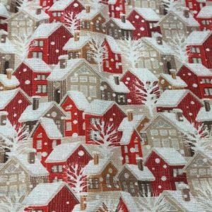 Dekostoff, Weihnachten, Merry Christmas, Baumwolle